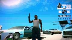 HUD 3D для GTA San Andreas