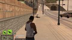 Простенький C-HUD для GTA San Andreas