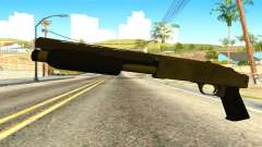 Sawnoff Shotgun from GTA 5 для GTA San Andreas