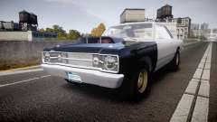 Dodge Dart HEMI Super Stock 1968 rims1