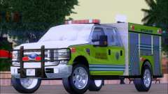 Ford F350 XLT Super Duty MDFD Batalion Chief 12