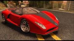 Grotti Cheetah v3 (GTA V) для GTA San Andreas