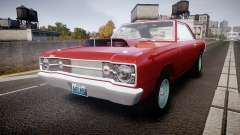 Dodge Dart HEMI Super Stock 1968 rims2