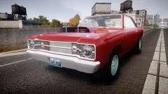 Dodge Dart HEMI Super Stock 1968 rims2