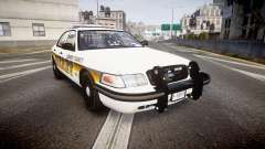 Ford Crown Victoria Sheriff Liberty [ELS] для GTA 4