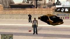 C-HUD 3D для GTA San Andreas