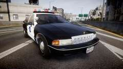Chevrolet Caprice 1990 LCPD [ELS] Traffic