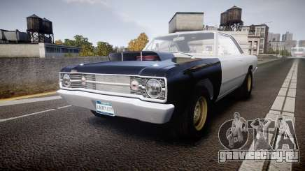 Dodge Dart HEMI Super Stock 1968 rims1 для GTA 4
