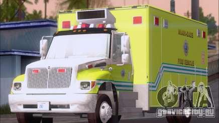 Pierce Commercial Miami Dade Fire Rescue 12 для GTA San Andreas