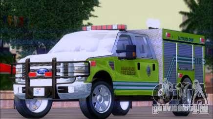Ford F350 XLT Super Duty MDFD Batalion Chief 12 для GTA San Andreas