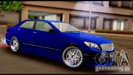GTA 5 Schafter Bumper для GTA San Andreas