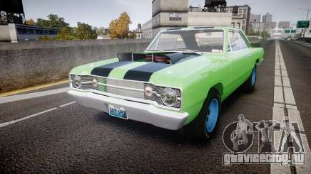 Dodge Dart HEMI Super Stock 1968 rims3 для GTA 4