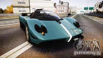 Pagani Zonda Cinque Roadster 2010 для GTA 4