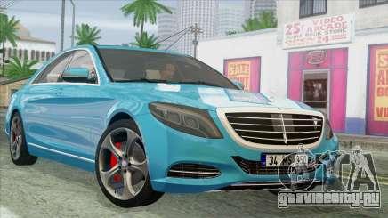 Mercedes-Benz S350 2015 Bluetec для GTA San Andreas