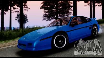 Pontiac Fiero GT G97 1985 IVF для GTA San Andreas