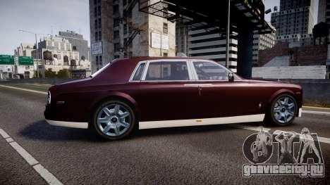 Rolls-Royce Phantom EWB v3.0 для GTA 4 вид слева