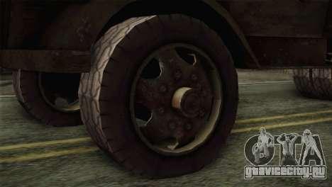 Opel Blitz (CoD: World at War) для GTA San Andreas вид сзади слева