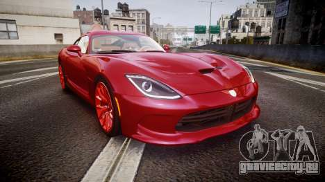 Dodge Viper SRT 2013 rims1 для GTA 4
