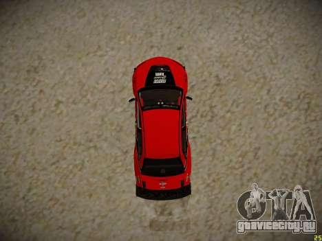 Mitsubishi Lancer Tokyo Drift для GTA San Andreas вид сзади