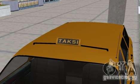 Renault 12 SW Taxi для GTA San Andreas колёса