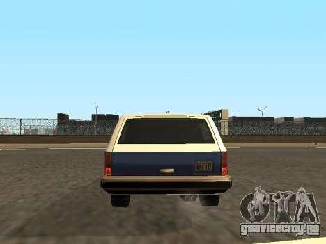 Rancher Four Door для GTA San Andreas колёса