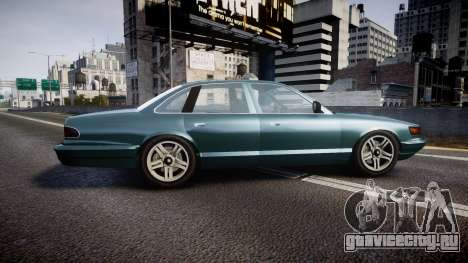 GTA V Vapid Stanier new wheels для GTA 4 вид слева