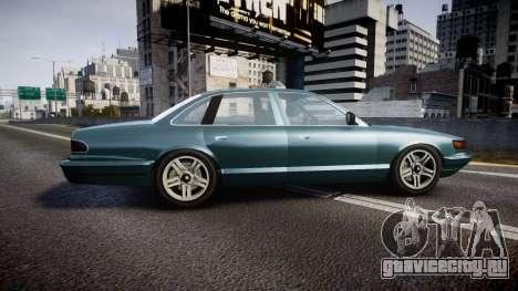 GTA V Vapid Stanier new wheels для GTA 4 вид слева