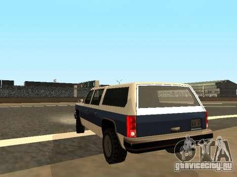 Rancher Four Door для GTA San Andreas вид слева