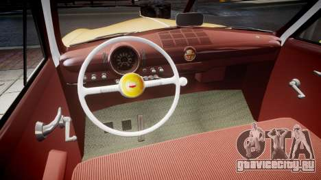 Ford Business 1949 v2.1 для GTA 4 вид изнутри
