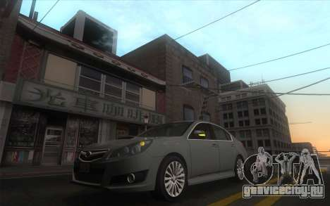 Classic Dark ENB для GTA San Andreas третий скриншот
