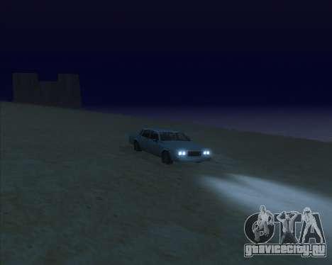 ENBSeries NEW Perfect Effects для GTA San Andreas пятый скриншот