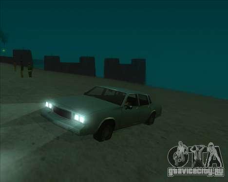 ENBSeries NEW Perfect Effects для GTA San Andreas третий скриншот