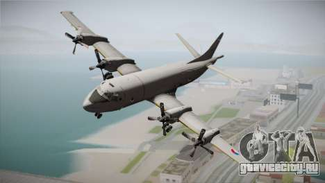 Lockheed P-3 Orion MLD New для GTA San Andreas