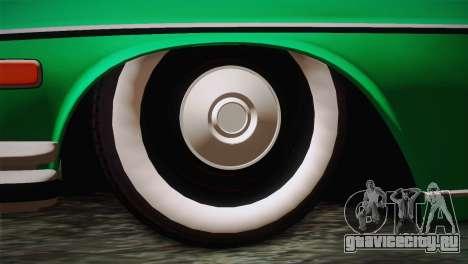 Mercedes-Benz 300 SEL DRY Garage для GTA San Andreas вид сзади слева