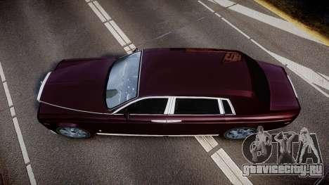 Rolls-Royce Phantom EWB v3.0 для GTA 4 вид справа
