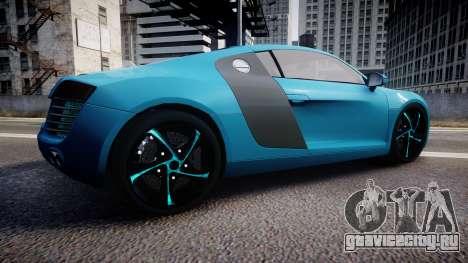 Audi R8 Tron Legacy [EPM] для GTA 4 вид слева