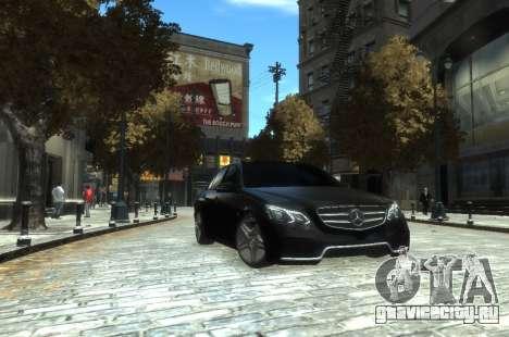 Mercedes-Benz E63 W212 AMG для GTA 4 вид слева