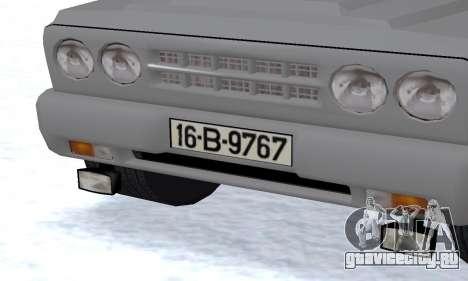 Aro 242 для GTA San Andreas вид изнутри