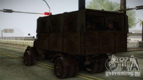 Opel Blitz (CoD: World at War) для GTA San Andreas вид слева