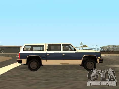 Rancher Four Door для GTA San Andreas вид сверху