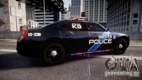Dodge Charger 2010 Police K9 [ELS] для GTA 4 вид слева