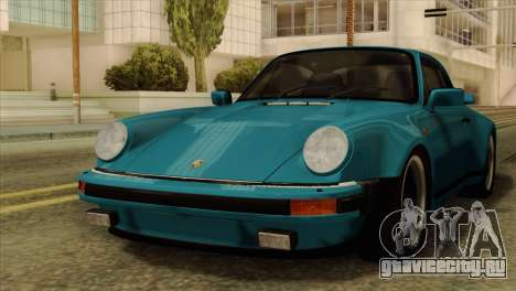 Porsche 911 Turbo 3.3L Coupe (930) 1981 для GTA San Andreas