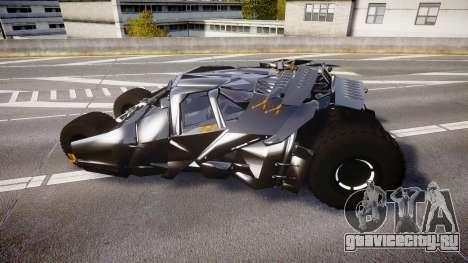 Batman tumbler [EPM] для GTA 4 вид слева