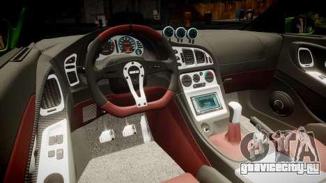 Mitsubishi Eclipse GSX 1995 Furious v3.0 для GTA 4 вид сверху