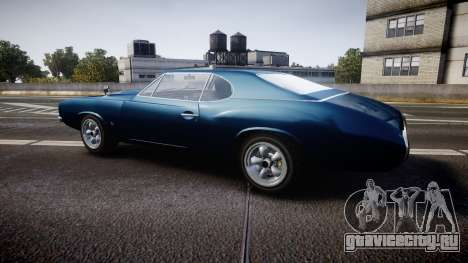 Classique Stallion Fastback для GTA 4 вид слева