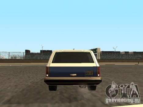 Rancher Four Door для GTA San Andreas двигатель