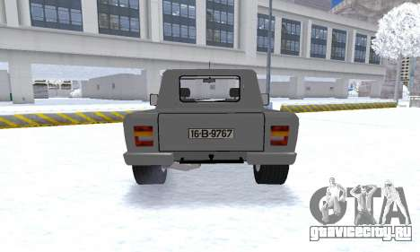 Aro 242 для GTA San Andreas вид сзади
