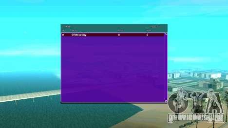 ACSG Автоматическая смена SampGui для GTA San Andreas второй скриншот
