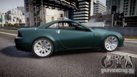 Benefactor Feltzer V8 Sport для GTA 4 вид слева