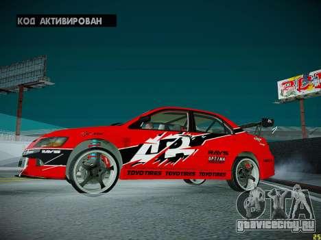Mitsubishi Lancer Tokyo Drift для GTA San Andreas